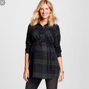 Liz Lange Maternity Flannel